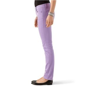 White House Black Market Jeans - White House Black Market Lilac Slim Ankle Jeans
